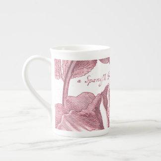 Vintage Floral Marigolds Tea Cup