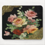 Vintage Floral Mousemats