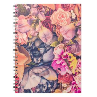 Vintage Floral Notebook - BlisseysBoutique