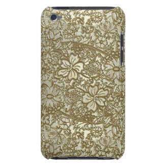 Vintage Floral Pattern Barely There iPod Cases