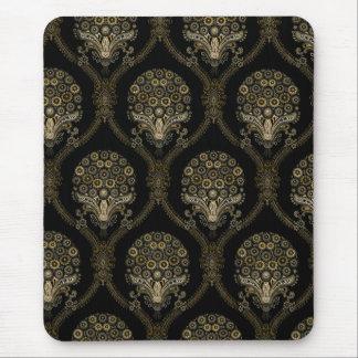 Vintage Floral Pattern Mouse Pad