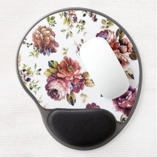 Vintage Floral Pattern Mousepad Gel Mouse Pad