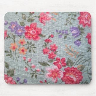 Vintage Floral Pattern Mousepad