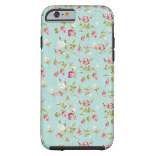 iphone 6 case floral vintage
