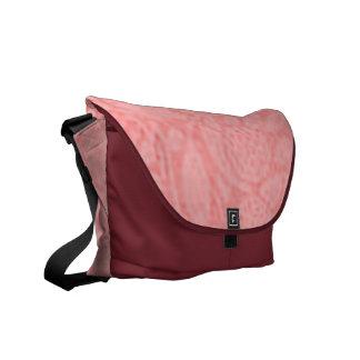 Vintage Floral Peach Messenger Bag
