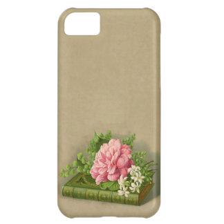Vintage Floral Peony Classy Book Elegant iPhone 5C Case