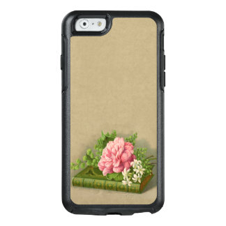 Vintage Floral Peony Classy Book Elegant OtterBox iPhone 6/6s Case