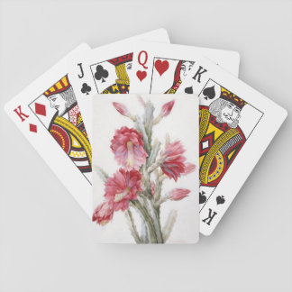 Vintage Floral Playing Cards