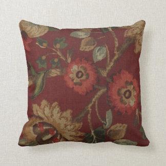 Vintage Floral Print MoJo Pillow