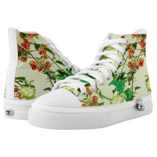 Vintage Floral Printed Shoes