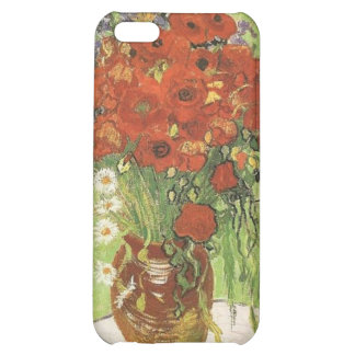 Vintage floral, Red Poppies and daises... Case For iPhone 5C