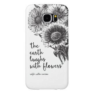 Vintage Floral Samsung Galaxy S6 case