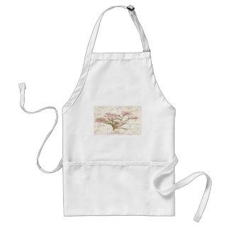 Vintage floral standard apron
