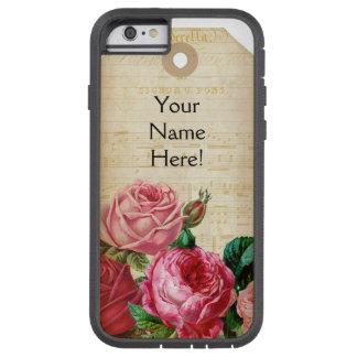 Vintage Floral Tag Phone Case