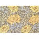 Vintage Floral Wallpaper Chrysanthemums Photo Cut Outs
