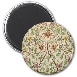 Vintage Floral Wallpaper Design - Daffodil Magnet