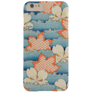 Vintage Floral Waves Barely There iPhone 6 Plus Case
