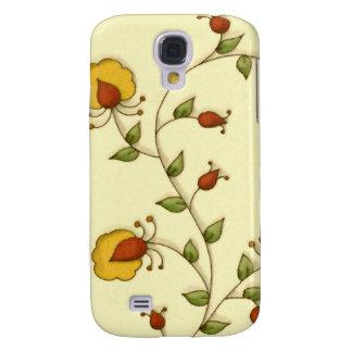 Vintage Floral Yellow Flower Garden  iPhone 3 Case