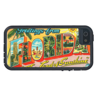 Vintage Florida Cover For iPhone 5
