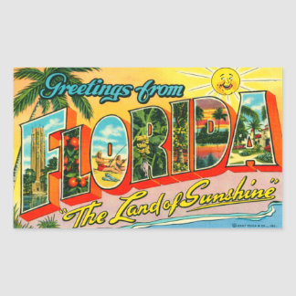 Vintage Florida Sticker