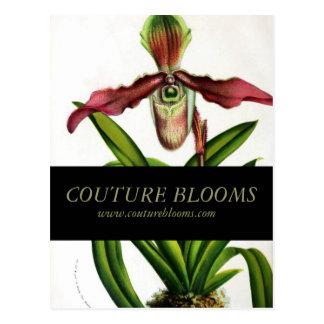 Vintage Florist Business Opening Announcement Card Postcard