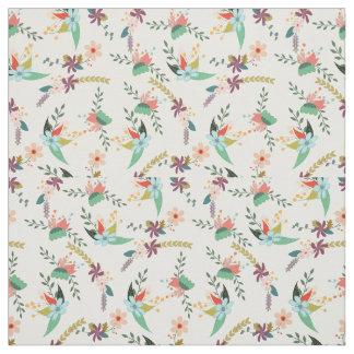 Vintage Flower Cotton Fabric