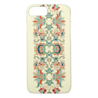 Vintage flower design pattern iPhone 7 case