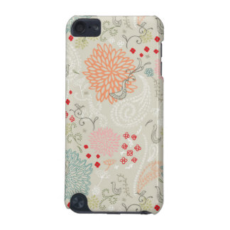 Vintage flower doves Ipod touch case