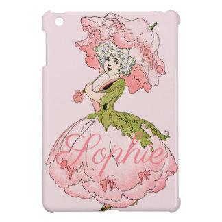 Vintage Flower Fairy Personnalised iPad Mini Cover