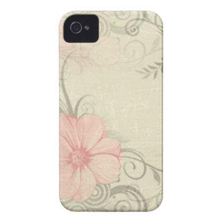 Vintage Flower IPhone 4 case