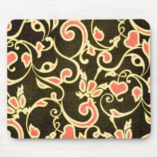 Vintage Flower Mouse Pad