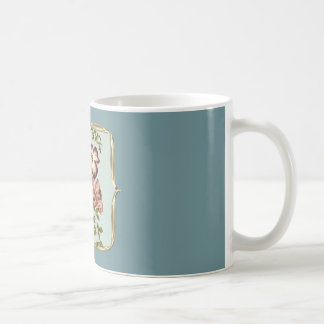 Vintage Flower Spray Coffee Mug