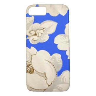 Vintage Flower Wallpaper Pattern, Spring Floral iPhone 8/7 Case