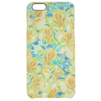 Vintage Flowers Abstract Pattern