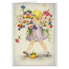 Vintage Flowers All Occasion Note Card