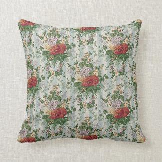 Vintage Flowers Cushion