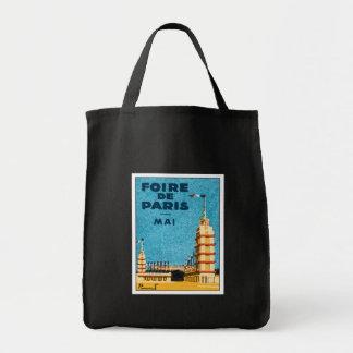 Vintage Foire De Paris Bag