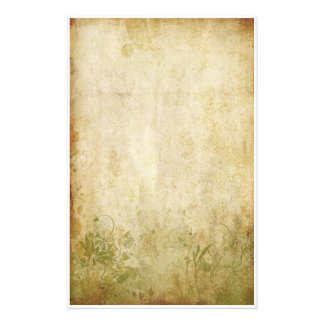 Vintage Foliage - Green Stationery