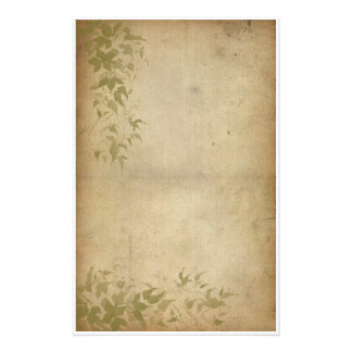 Vintage Foliage - Ivy Personalised Stationery