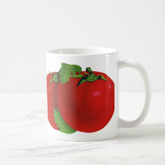 Vintage Food, Fruits, Vegetables, Red Ripe Tomato Mug