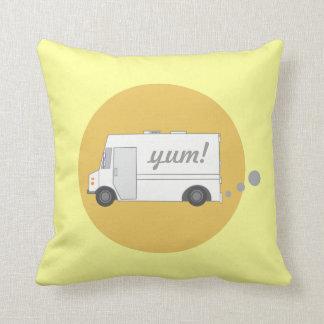 Vintage Food Truck Pillow