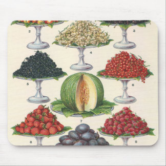 Vintage Foods Assorted Fruit on Trays for Catering Mouse Pad