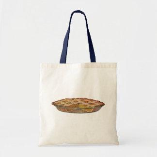 Vintage Foods, Dessert, Thanksgiving Pumpkin Pie Tote Bags