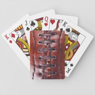 Vintage Football Gifts and Football Party Favours Poker Deck