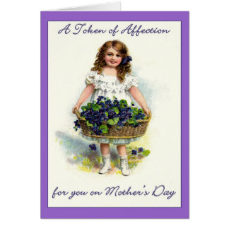 Vintage For You on Mother's Day,Token of Affection Cards