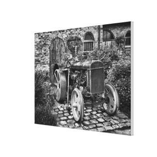 Vintage Fordson Tractor, made for 24x18 Canvas Print