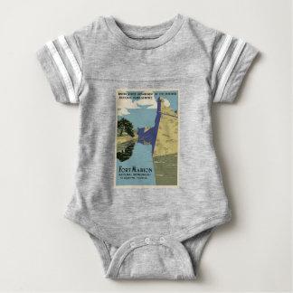 Vintage Fort Marion Baby Bodysuit