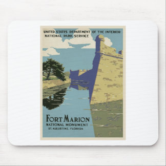 Vintage Fort Marion Mouse Pad