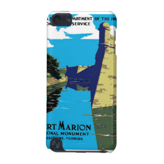 Vintage Fort Marion National Monument WPA Poster iPod Touch (5th Generation) Cases