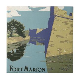 Vintage Fort Marion Tile